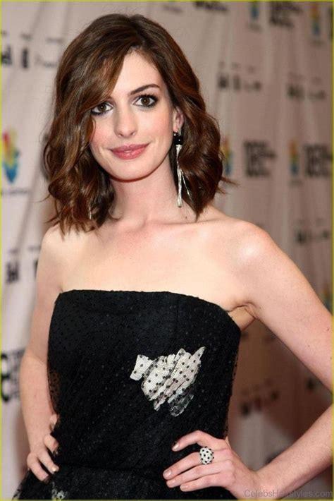 Anne hathaway short hairtyle, home season dos hair, dark brown bob, short hair haircuts easy. 55 Fantastic Hairstyles Of Anne Hathaway