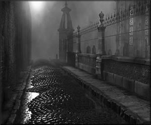 spooky foggy street at night | Darkly lovely | Pinterest ...