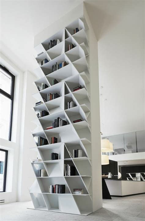 Lu2019 u00e9tagu00e8re bibliothu00e8que comment choisir le bon design? - Archzine.fr