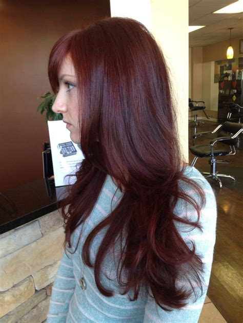 17 Best Ideas About Dark Red Hair On Pinterest Dark Red