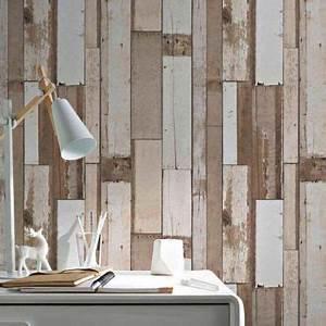 papier peint vinyle intisse bois naturel arcelot castorama With leroy merlin store exterieur 19 papier peint castorama
