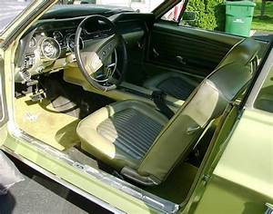 Lime Gold Green 1968 Ford Mustang Hardtop