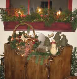 ideas for primitive christmas decorations creative home