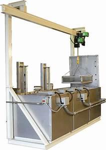 Program Hoist Parts Washer System