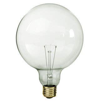 xl 5 inch clear globe light bulb vintage industrial edison