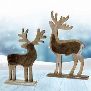 Einzelbetten Aus Holz : deko rentier aus holz mit gravur traditionelle weihnachtsdeko ~ Markanthonyermac.com Haus und Dekorationen