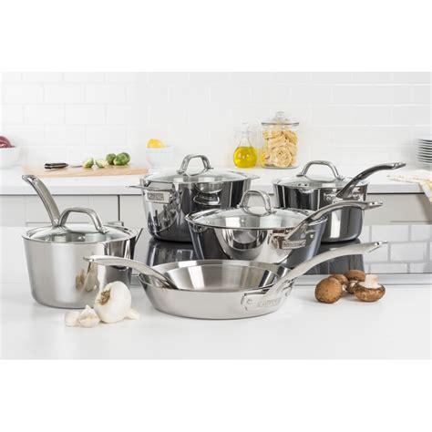 viking  piece stainless steel cookware set reviews joss main