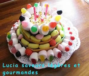 Deco Bonbon Anniversaire : g teau d 39 anniversaire en bonbon lucia saveurs l g res et gourmandes ~ Melissatoandfro.com Idées de Décoration