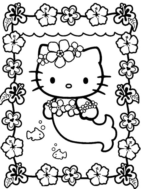 coloring pages  kitty coloring pages