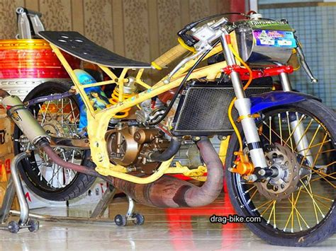 Drag Modifikasi Tercepat by 100 Foto Gambar Modifikasi R Drag Bike Racing