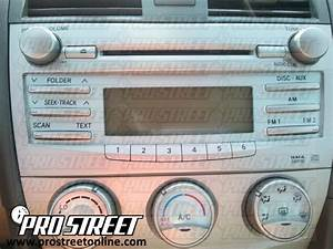 How To Toyota Camry Stereo Wiring Diagram
