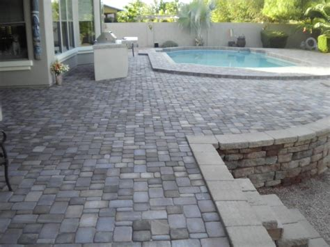 landscape tiles pavers flagstone and tile dream retreats landscape design