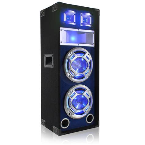 skytec dual   skytec blue led speakers amplifier  ebay