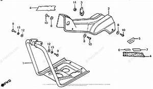 Honda Motorcycle 1976 Oem Parts Diagram For Main Pipe
