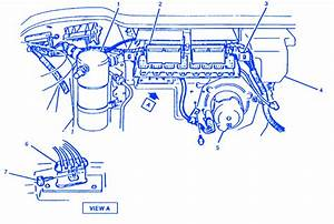 Oldsmobile 98 Regency V 6 1992 Electrical Circuit Wiring