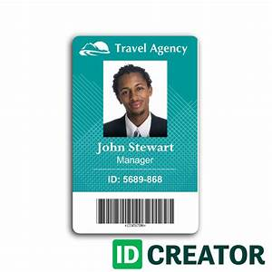 employee id card template microsoft word vertical best With staff id badge template