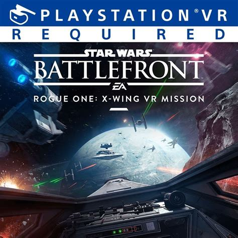 star wars battlefront rogue   wing vr mission