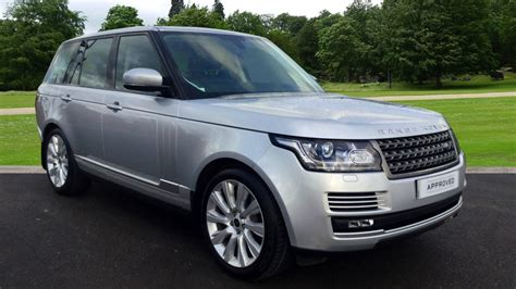 land rover silver land rover range rover 3 0 tdv6 vogue 4dr diesel automatic
