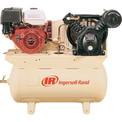 ingersoll rand mobile air compressor free shipping ingersoll rand 24 cfm 175 psi 13 hp horizontal air compressor with alternator