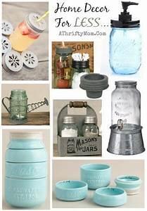 Mason, Jar, Kitchen, And, Home, Decor