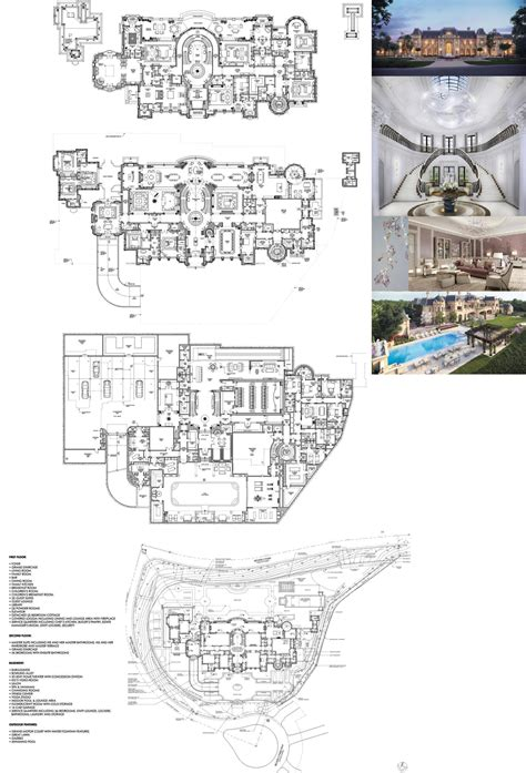 beverly hills mega mansion design proposal  beverly park    million lot  images