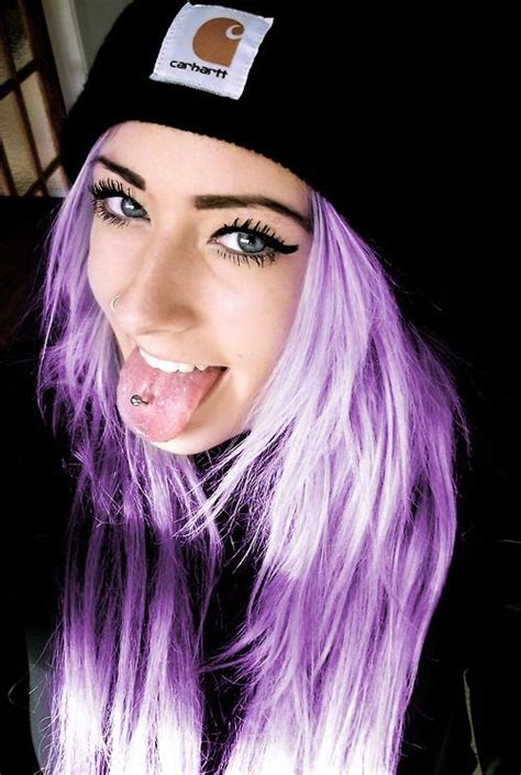 Beautiful Light Purple Hair Color Colored Hairstyles