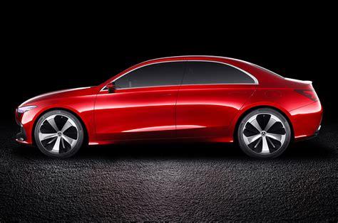 Mercedes Benz Concept A Sedan Previews Next Gen Compact