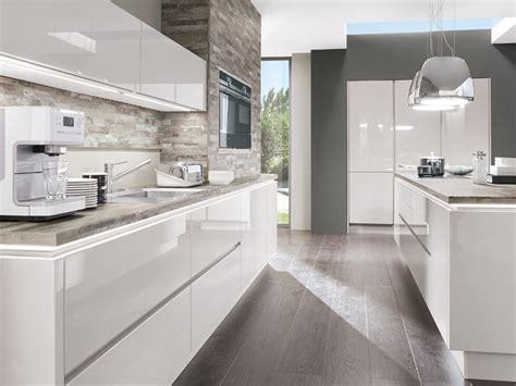 Küchen Hochglanz Weiß by Weisse Hochglanz Kchen Bilder Parsvending