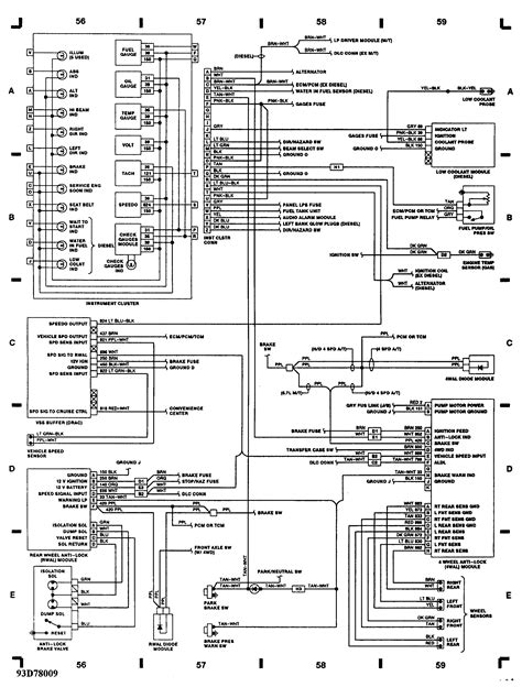 1993 Chevy Silverado Transmission Wiring Diagram by I A 93 Silverado With Od Automatic Transmission And 5