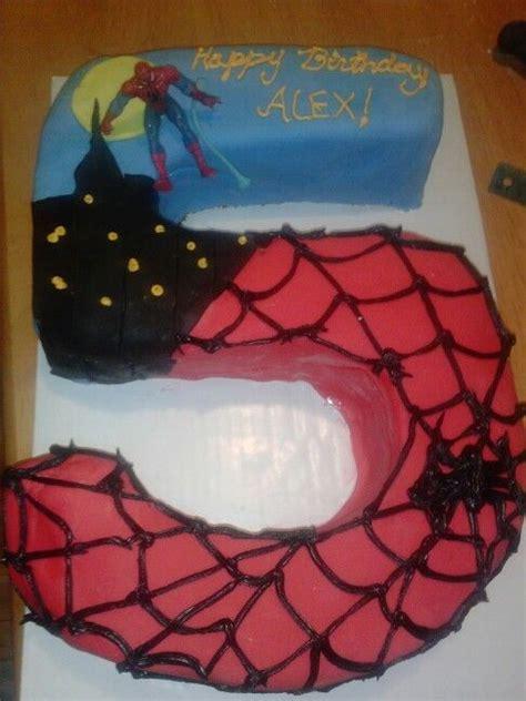 birthday spiderman cake cake birthday  birthday