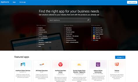 microsoft launches app store for business appsource it pro