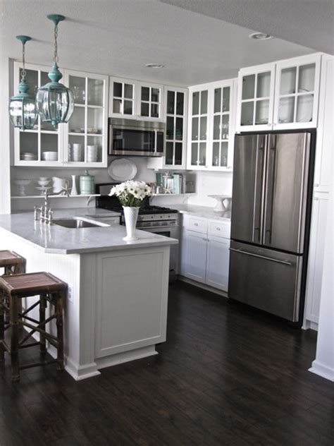 make small kitchen bigger 4 great tricks for making your small kitchen look larger interior design