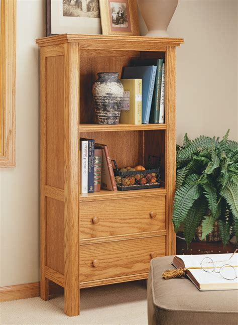 bead front bookcase woodworking project woodsmith plans