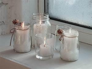 Glas Für Windlicht : windlicht selber machen ideen f r teelichthalter aus beton glas co ~ Markanthonyermac.com Haus und Dekorationen