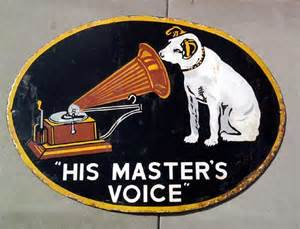 Image result for His Master's Voice'