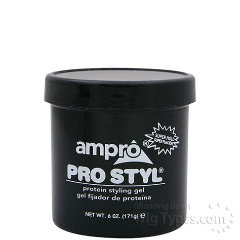 pro style hair gel ro pro styl protein styling gel hold wigtypes 1590