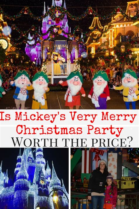 is mickey s very merry christmas party worth the cost