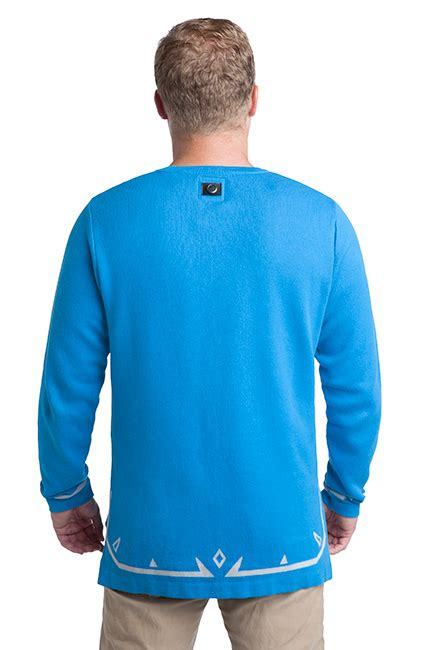 sword sweater breath of the link 39 s tunic sweater thinkgeek