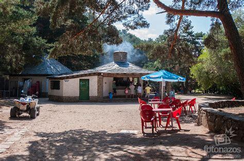 Área recreativa y piscinas de La Panera en el Espinar