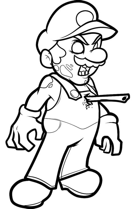 zombie coloring pages bestofcoloringcom