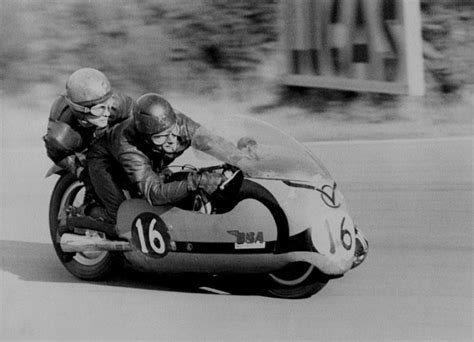 Bsa Sidecar Racing