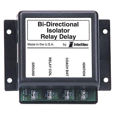 intellitec bi directional isolator relay delay with low threshold ebay