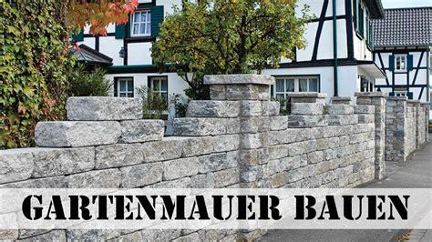 Gartenmauer Naturstein Kosten by Gartenmauer Bauen