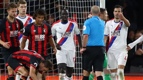 Live: Bournemouth v Crystal Palace in Premier League ...
