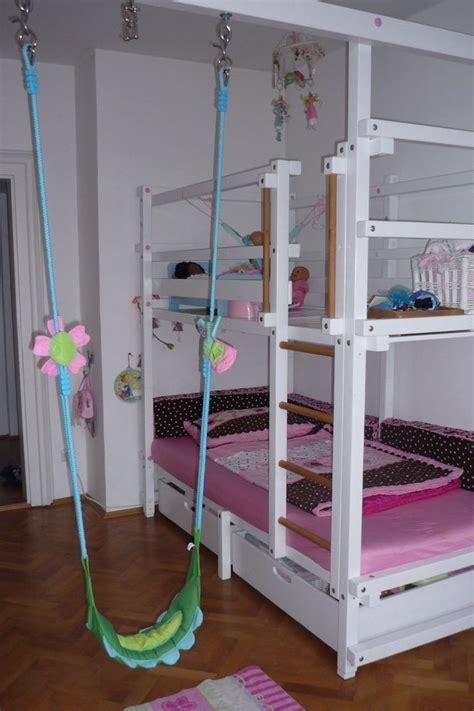 kindermöbel selber bauen billi bolli hochbett stockbett abenteuerbett schaukel wei 223