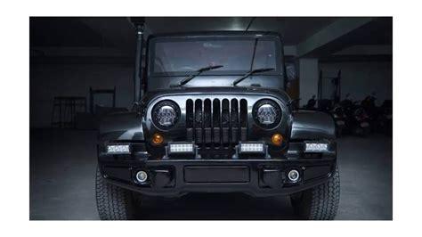 thar jeep interior mahindra thar new looking interior exterior youtube