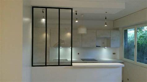 cuisine facade cuisine ouverte avec verrière artemis design cuisines