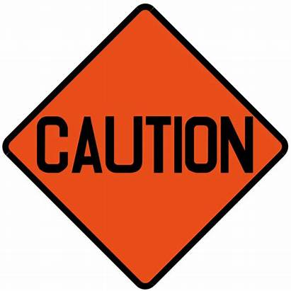 Caution Signs Cliparts Sign Road Svg Singapore