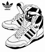 Coloring Adidas Shoes Pages Sketch Melting Stress Sneakers Colour Print Doghousemusic sketch template