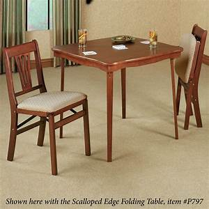 French Country Folding Chair Pair